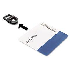 Durable - 818801 - Durable Tension Fit ID Gripper - 50 / Box - Black