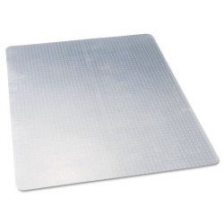 Deflect-O - CM11442F - deflecto Economat Chairmats - Carpeted Floor - 60 Length x 46 Width - Vinyl - Clear
