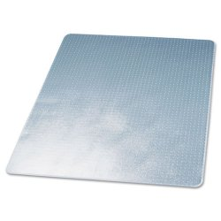 Deflect-O - CM13443F - deflecto Duramat Chairmats - Carpeted Floor - 60 Length x 46 Width - Vinyl - Clear