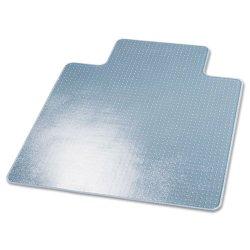 Deflect-O - CM14233 - Deflect-o SuperMat CM14233 Chair Mat - Carpeted Floor - 45 Length x 53 Width - Lip Size 12 Length x 25 Width - Vinyl