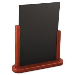 Deflect-O - DEF-ELE-M-LA - Wet Erase Signs, 10 7/8 x 2 3/4 x 12 1/2, Mahogany Frame