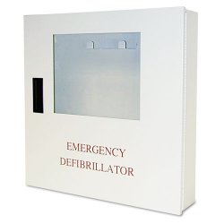 Defibtech - DAC-220 - AED Wall Cabinet with Alarm; For Use With Mfr. No. DCF-A100-RX-EN, DCF-A110-RX-EN, DCF-A2310RX
