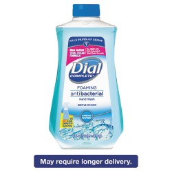 Dial - 09027 - Antibacterial Foaming Hand Wash Spring Water Scent, 32 oz Bottle, 6/Carton