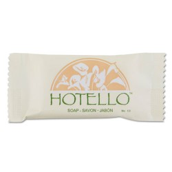 Dial - 300075 - Hotello Bar Soap, # 3/4, Individually Wrapped, 1000/Carton
