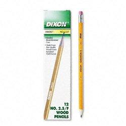 Dixon Ticonderoga - 12875 - Dixon Oriole Pencil - # 2.5 Pencil Grade - Black Lead - Yellow Barrel - 72 / Pack