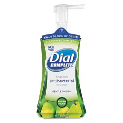 Dial - 10017000029341 - Antibacterial Foaming Hand Wash, Fresh Pear, 7.5oz Pump Bottle