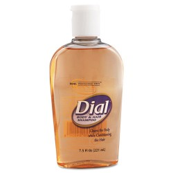 Dial - DIA 04014 - Body & Hair Care, Peach Scent, 7.5oz Flip-Cap Bottle, 24/Carton