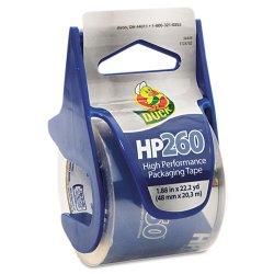 Duck - 00-07427 - HP260 Packaging Tape w/Dispenser, 1.88 x 22.2yds, Clear