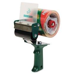 Duck - 1064012 - Extra-Wide Packaging Tape Dispenser, 3 Core, Green