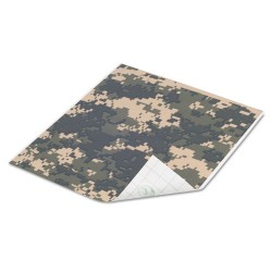 Duck - 280093 - Tape Sheets, Digital Camo, 6/Pack