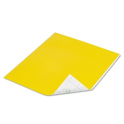 Duck - 280088 - Tape Sheets, Yellow, 6/Pack
