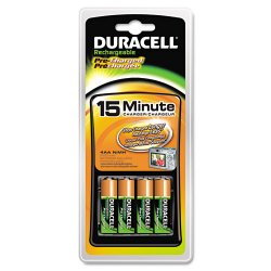 Duracell - CEF15NC - Duracell 15-Minute Chargers (Each)
