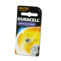 Duracell - D384/392PK - 1.5 Volt Silver Oxide Watch Battery