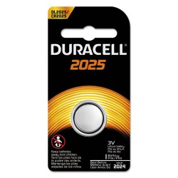 Duracell - DURDL2025BPK - Button Cell Lithium Battery, 2025