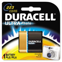 Duracell - DL223ABPK - Lithium Battery, Voltage 6, Battery Size 223, 1 EA