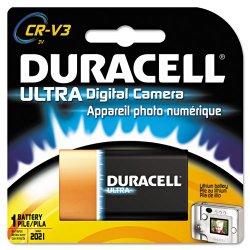 Duracell - DLCRV3BPK - Ultra High Power Lithium Battery, CRV3, 3V, 1/EA