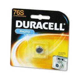 Duracell - MS76BPK - 1.5 Volt Silver Oxide Photo/electronic Batt