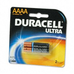 Duracell - MX2500B2PK - Ultra Photo AAAA Battery, 2/CT