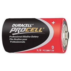 Duracell - PC1300 - D Standard Battery, Duracell Procell, Alkaline, PK12