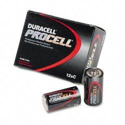Duracell - PC1400 - C Standard Battery, Duracell Procell, Alkaline, PK12