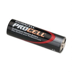 Duracell - PC1500BKD - Procell Alkaline Batteries, AA, 24/Box
