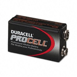 Duracell - PC1604BKD - Procell Alkaline Batteries, 9V, 12/Box