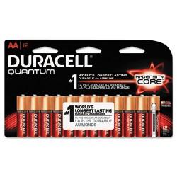 Duracell - MX1500B12Z11 - Quantum Alkaline Batteries, AA, 12/PK