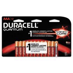 Duracell - MX2400B12Z11 - Quantum Alkaline Batteries, AAA, 12/PK