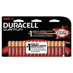 Duracell - MX2400B16Z11 - Quantum Alkaline Batteries, AAA, 16/PK