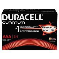 Duracell - QU2400BKD - Duracell QU2400BKD Quantum Heavy Duty AAA Alkakine Batteries with Dur