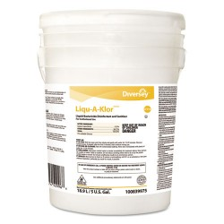 S.C. Johnson & Son - 100839975 - Liqu-A-Klor Disinfectant/Sanitizer, 5 gal Pail