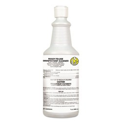 S.C. Johnson & Son - 100924637 - USC RTU Disinfectant Cleaner, Floral Citrus Scent, 1 qt Flip-Top Bottle, 12/Ctn