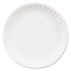 Dixie - DBP06W - 6 Round Disposable Plate, White; PK1200