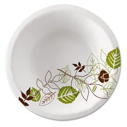 Dixie - SXB12WS - Paper Bowl, Pathways Design; PK500