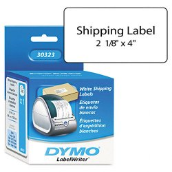 "DYMO - 30323 - Dymo Shipping Label - 2.10"" Width x 4"" Length - Rectangle - White"