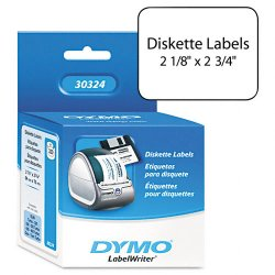 "DYMO - 30324 - Dymo LabelWriter Large Multipurpose Labels - 2.12"" Width x 2.75"" Length - 320 / Roll - Rectangle - Direct Thermal - White - 320 / Roll"