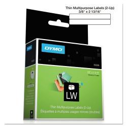 "DYMO - 30339 - Dymo Video Tape Label(s) - 0.37"" x 2.81"" - 700 x Label, 1 x Roll"