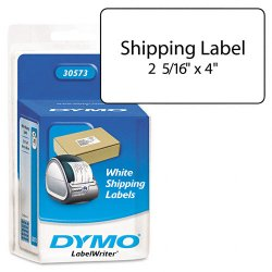 "DYMO - 30573 - Dymo Shipping Labels - 2.12"" Width x 4"" Length - White - 220 / Pack"