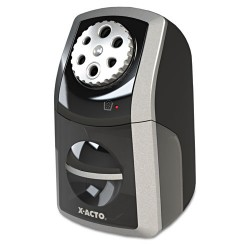 Elmer's - 1772 - SharpX Performance Electric Pencil Sharpener, Black/Silver