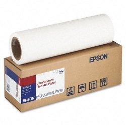 """Epson - S041856 - Epson Fine Art Paper - 17"""" x 50 ft - 250 g/m² Grammage - Matte, Smooth - 90 Brightness"""