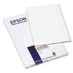 """Epson - S041896 - Epson Fine Art Paper - 13"""" x 19"""" - Smooth - 25 Sheet - White"""