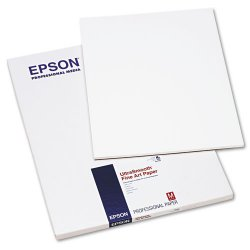 "Epson - S041897 - Epson Fine Art Paper - 17"" x 22"" - Smooth - 25 Sheet - White"