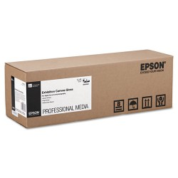 Epson - S045242 - Epson Signature Worthy Inkjet Print Canvas - 17 x 480 - 420 g/m Grammage - Soft Gloss - 1 Roll - Bright White