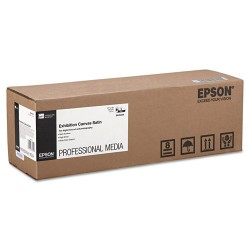 Epson - S045249 - Epson Signature Worthy Inkjet Print Canvas - 17 x 480 - 430 g/m Grammage - Semi-gloss, Satin - 1 Roll - Bright White