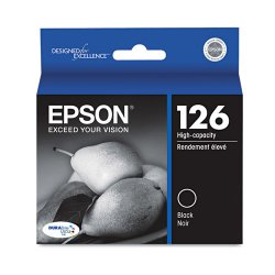 Epson - T126120 - Epson T126120 126 High Capacity Ink Cartridge (Black)