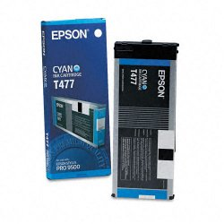 Epson - T477011 - Epson Cyan Ink Cartridge - Cyan - Inkjet - 1 - Retail