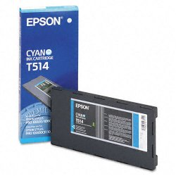 Epson - T514011 - Epson Cyan Archival Ink Cartridge - Inkjet - Cyan