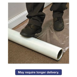 E.S. Robbins - 110024 - Roll Guard Temporary Floor Protection Film for Carpet, 36 x 2400, Clear