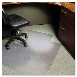 E.S. Robbins - 120023 - 36 x 48 Lip Chair Mat, Task Series AnchorBar for Carpet up to 1/4