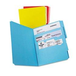 Esselte Pendaflex - ESS10773 - Divide it Up File Folder, Multi Section, 1/2 Cut Tab, Letter, Assorted, 12/Pack